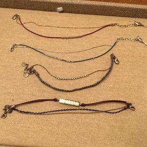 Chloe + Isabel Jewelry - Dainty Bracelets-Lot of 4 C&I
